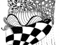 zentangle-oyster-checkers
