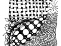 zentangle-shell-checkers