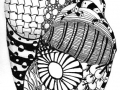 zentangle-shell-grass